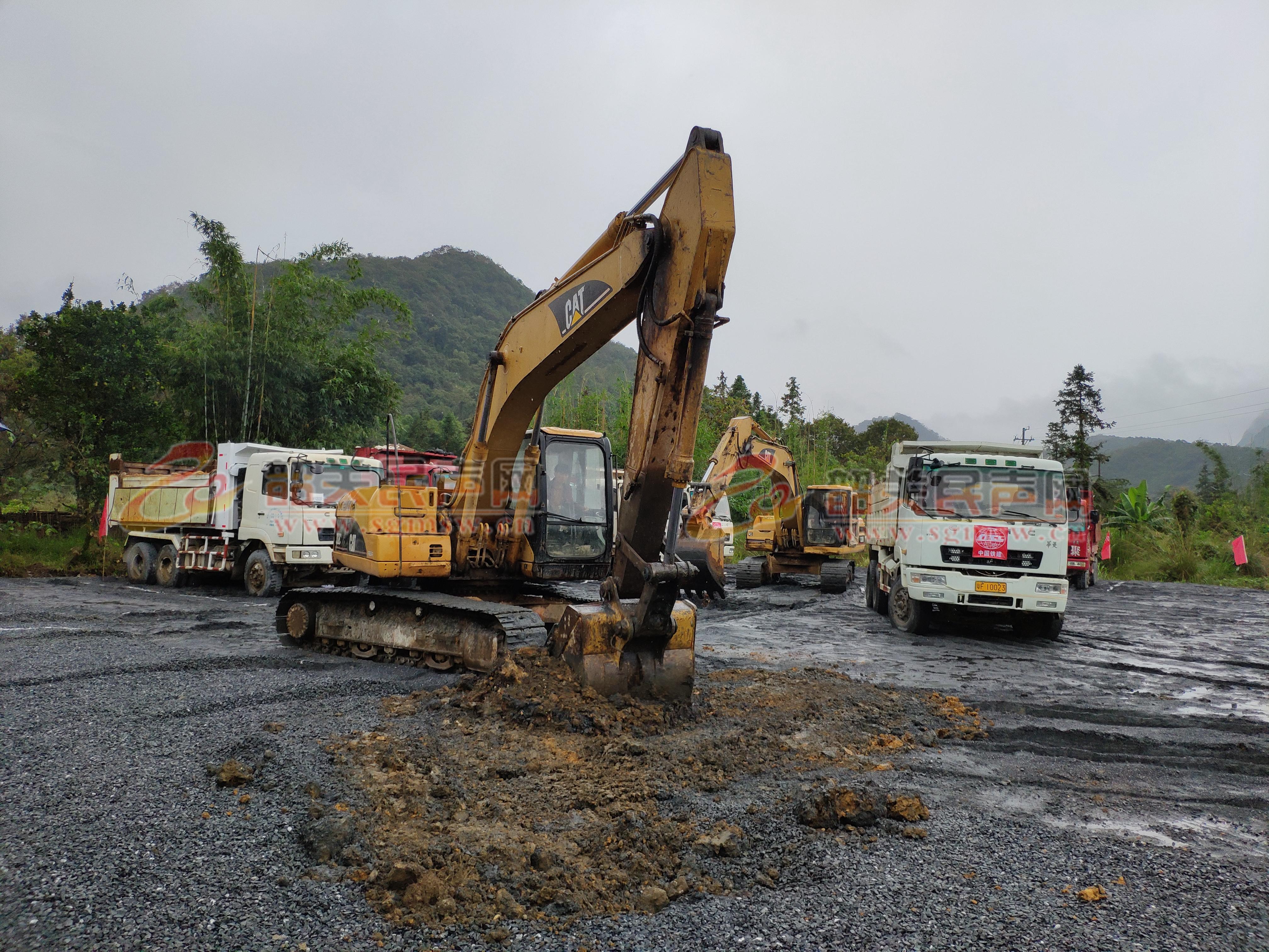国道G323线乳源上围至沙坪段改建工程今天动工